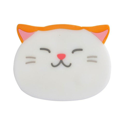 Funny Cat Face Silicone Coasters