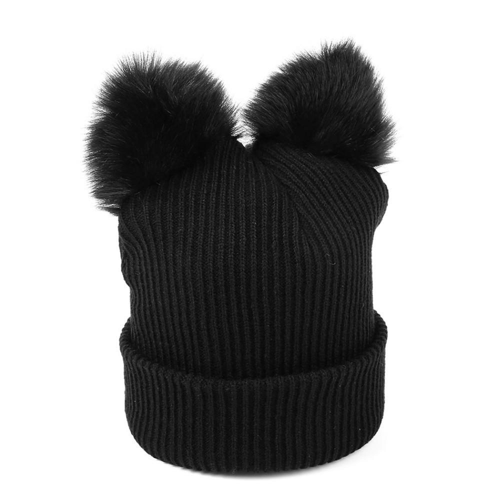 Cat Ear Beanie Back View