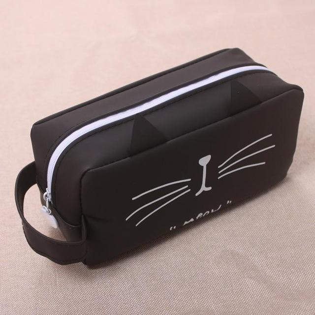 Cute Cat Pencil Case - Cat Face Style