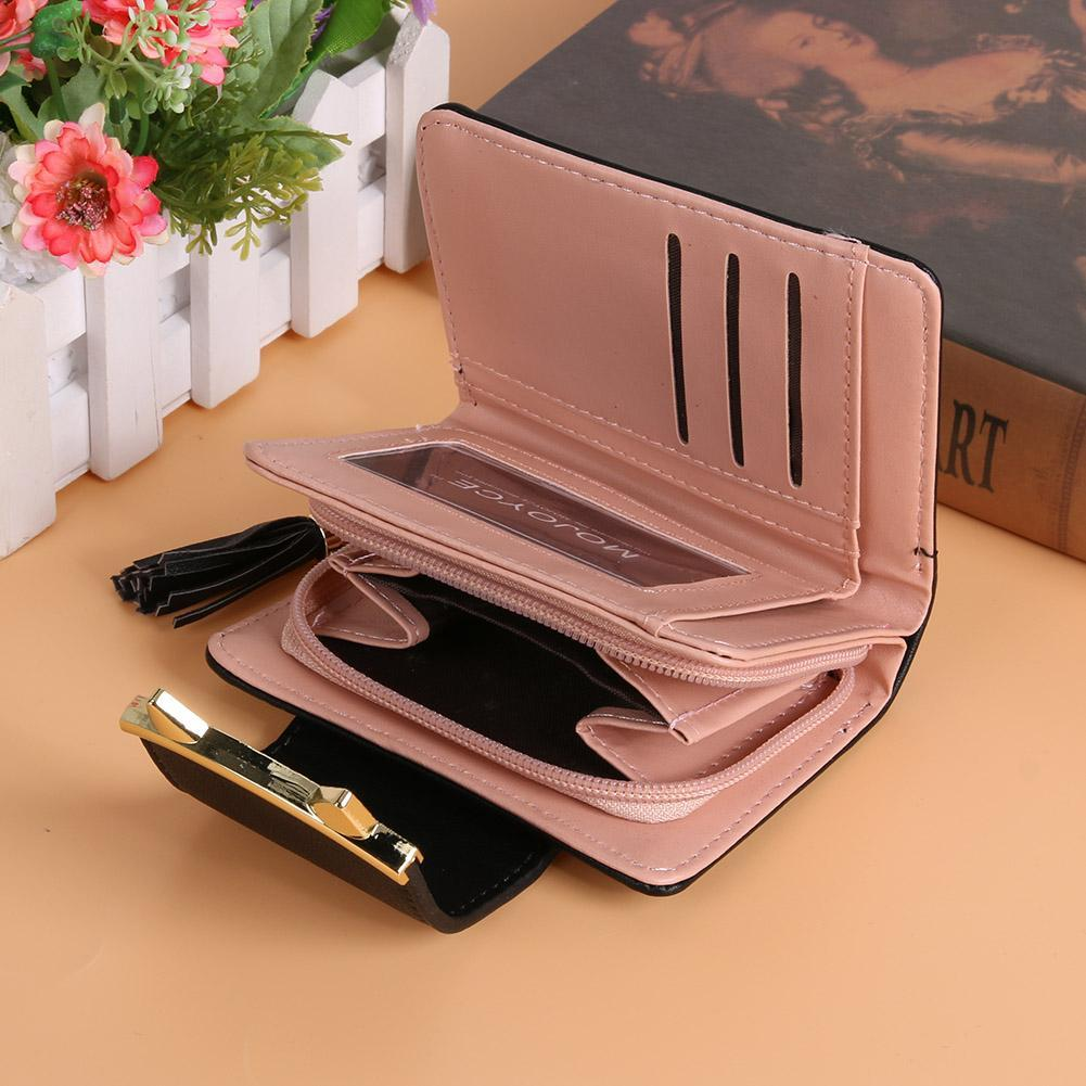 Opened Cat Ear Wallet showing compartments