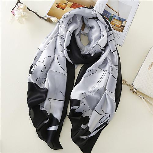 Pashmina Cat Scarf and Shawl