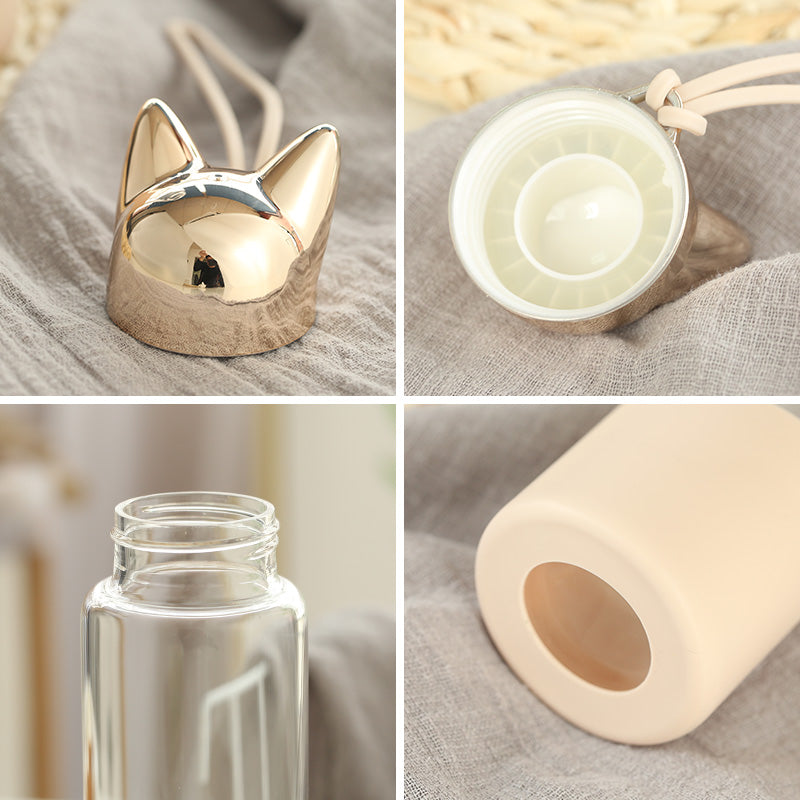 Cat Ear Water Bottle