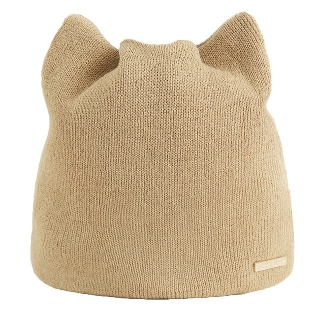 Cat Beanie with Ears