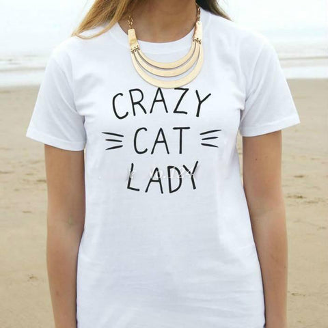 Crazy Cat Lady T-shirt - Catify.co
