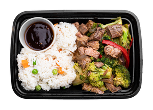 Sweet & Spicy Teriyaki Beef Stir Fry