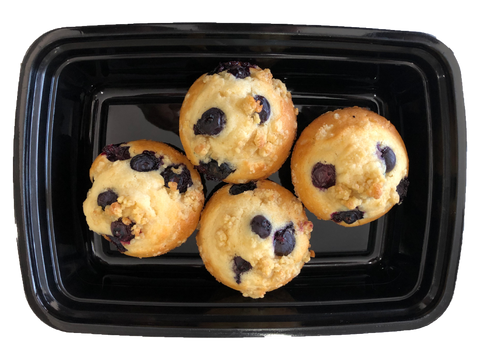 NEW! Blueberry Crumb-cake Muffins