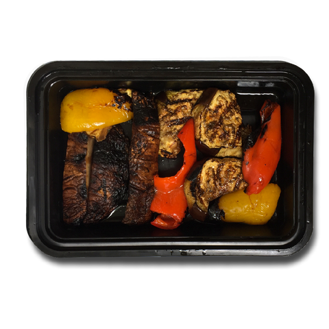 Balsamic Grilled Portobello Mushroom and Eggplant