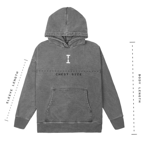 The Hoodie Size Chart