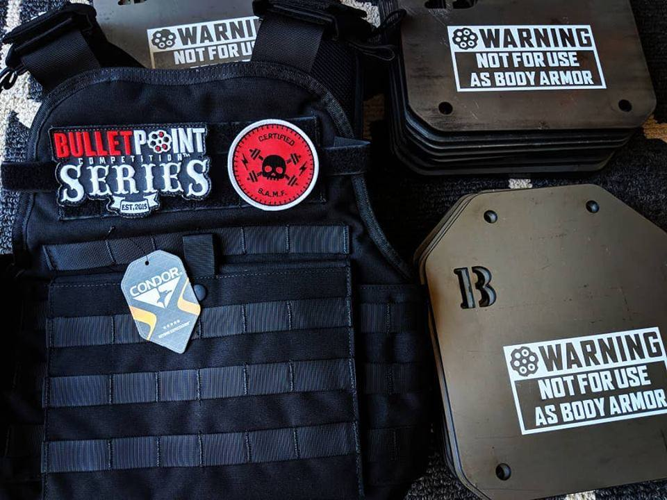 Bullet Point Competition Plate Carrier