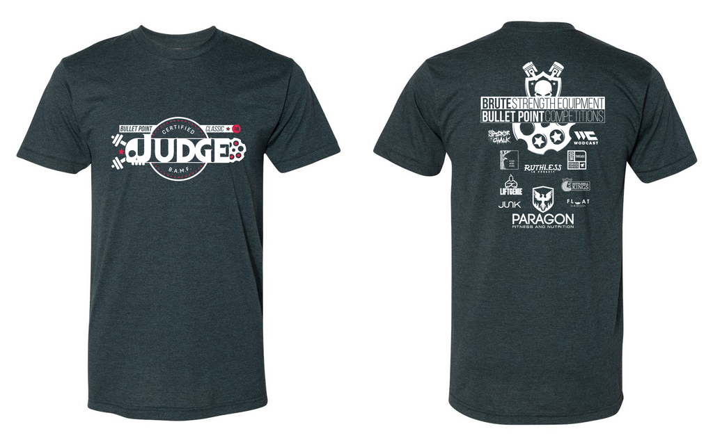 2018 Bullet Point Classic Judge Shirt