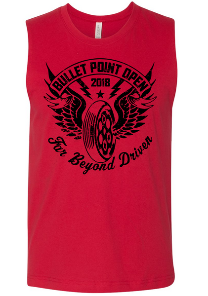 Bullet Point Open 2018 Men's Muscle Tank