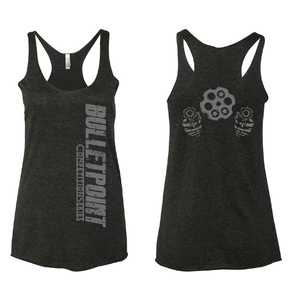 Murdered Out Six Shooter Tank - Black
