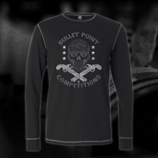 Skull and Pistoles Thermal (Black/Grey)