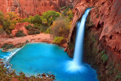 Copy of Havasupai Falls 11x14 Gallery Wrapped Canvas