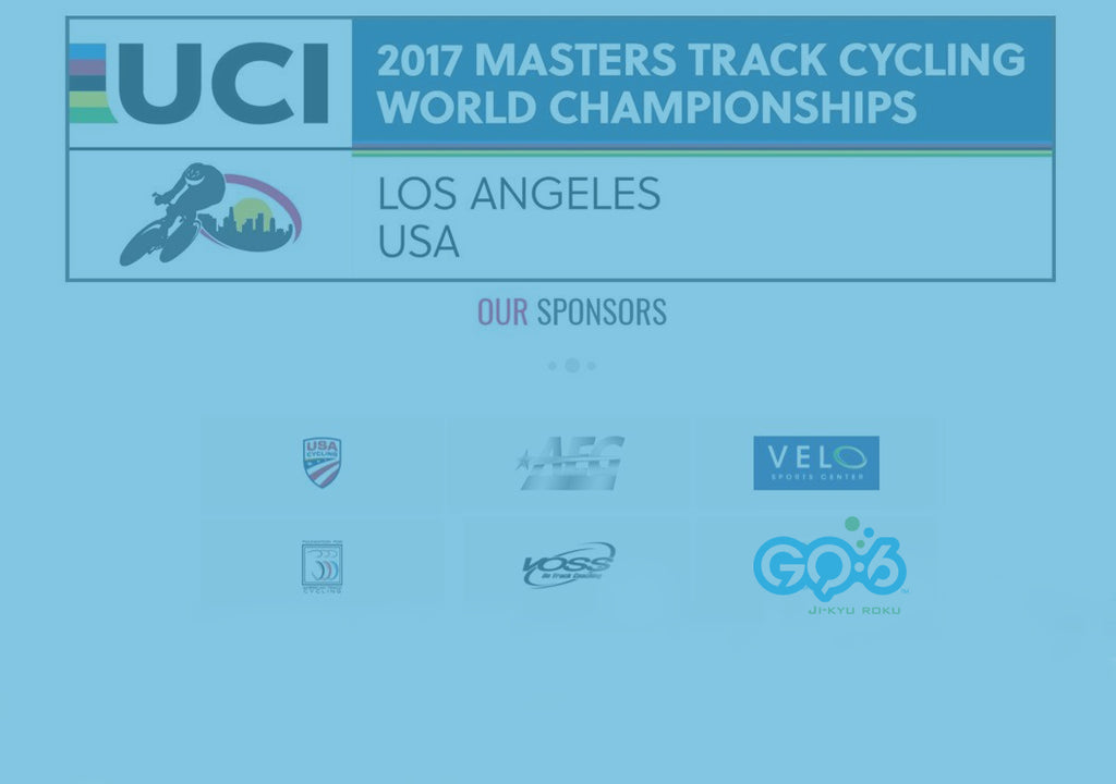 GQ-6: Official Sponsor of the 2017 UCI Masters Track Cycling World Championships