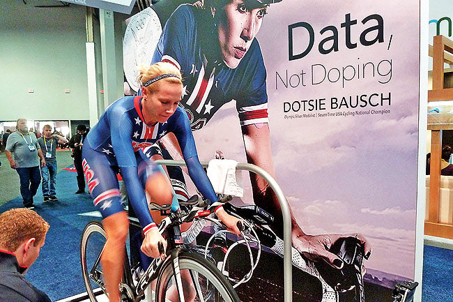 Dotsie Bausch: Data. Not Doping.
