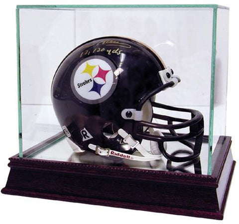 Glass Mini Helmet Display Case