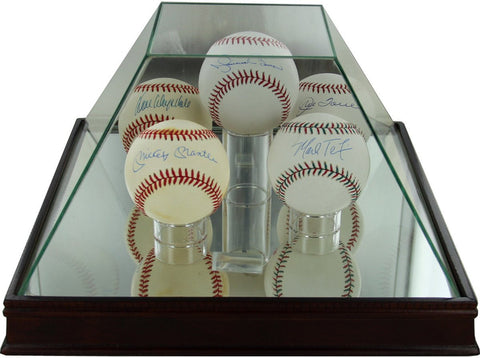 Glass Pyramid 5 Ball Baseball Case