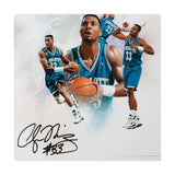 "Alonzo Mourning Autographed ""Buzz"" Collage 16 x 20"