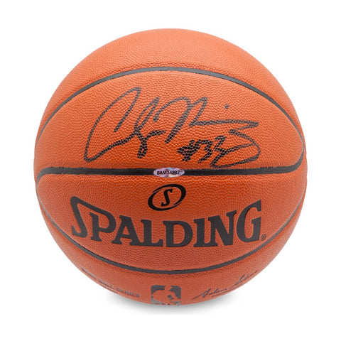 Alonzo Mourning Autographed Indoor/Outdoor Basketball