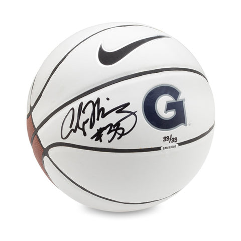 Alonzo Mourning Autographed Nike Georgetown Basketball