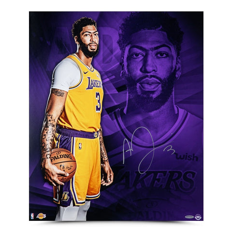 "Anthony Davis Autographed ""And So It Begins"" 20x24"