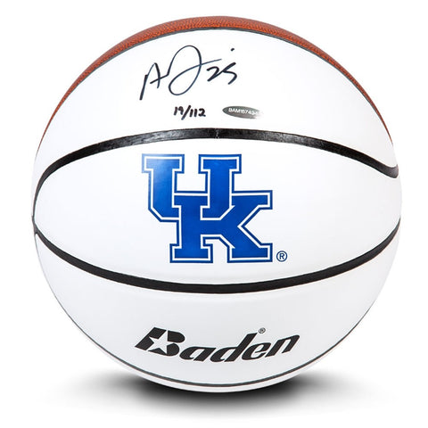 Anthony Davis Autographed Baden Collegiate Basketball