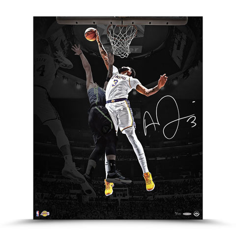 "Anthony Davis Autographed ""Rejection"" 20 x 24"