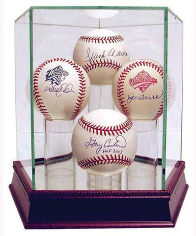 Glass Quad Baseball Case