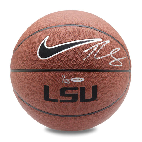 Ben Simmons Autographed Nike LSU Tigers Basketball