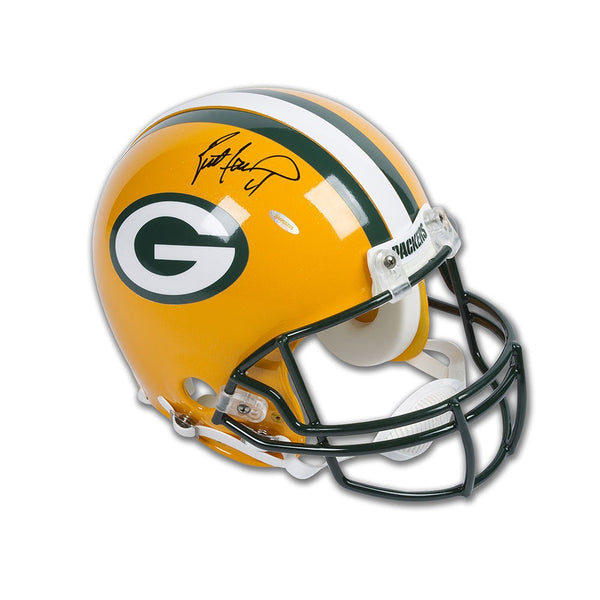 Brett Favre Autographed Green Bay Packers Authentic Helmet