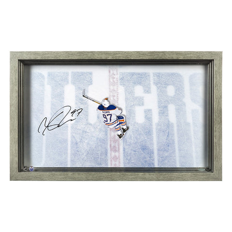 "Connor McDavid Autographed ""Great from Above"" Acrylic Display"