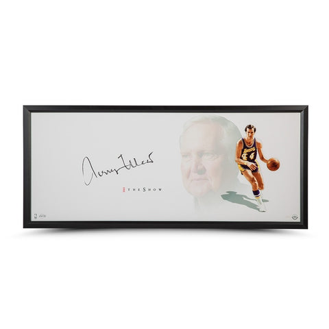 "Jerry West Autographed The Show ""The Logo"""