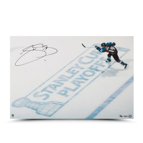 Joe Sakic Playoff Hockey 16 x 24 Photo