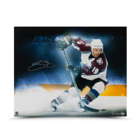 "Joe Sakic ""Stop On A Dime"" 16 x 20 Photo"