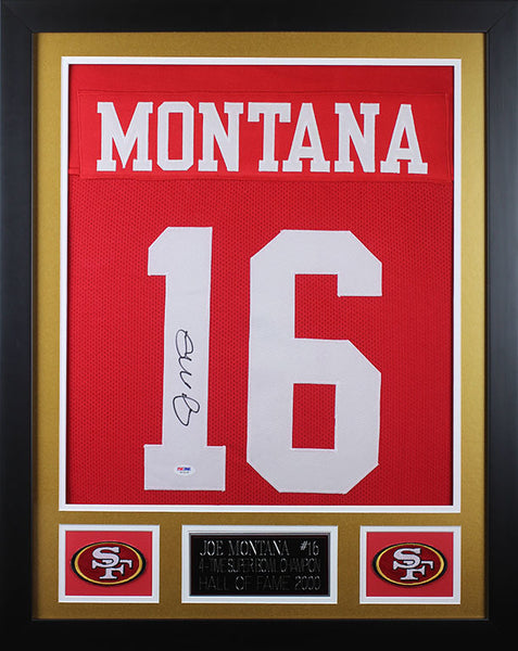 Deluxe Small Jersey Framing