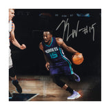 Kemba Walker Autographed Madison Square Drive Photo
