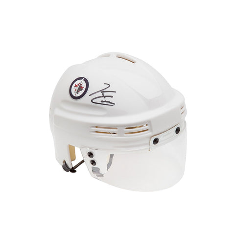 Kyle Connor Autographed Winnipeg Jets White Mini Helmet