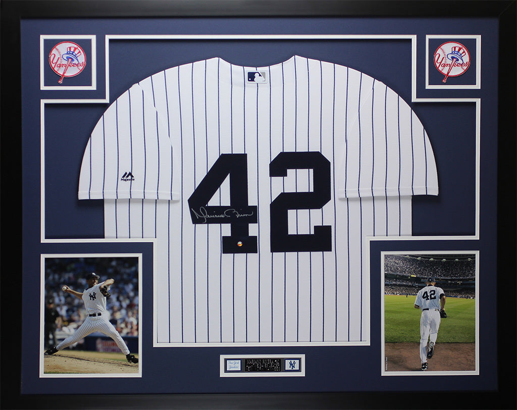 Mariano Rivera Autographed and Framed White P S NY Yankees Steiner COA –  Super Sports Center bb1abe19340