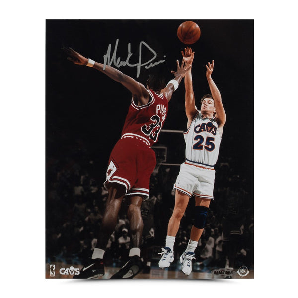 "Mark Price Autographed ""Jumper"" Photo"