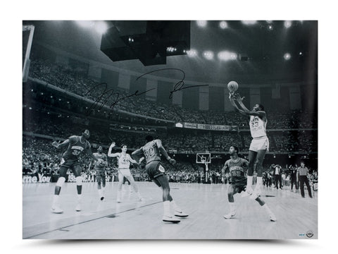 Michael Jordan Autographed 1982 NCAA Championship Shot Photo