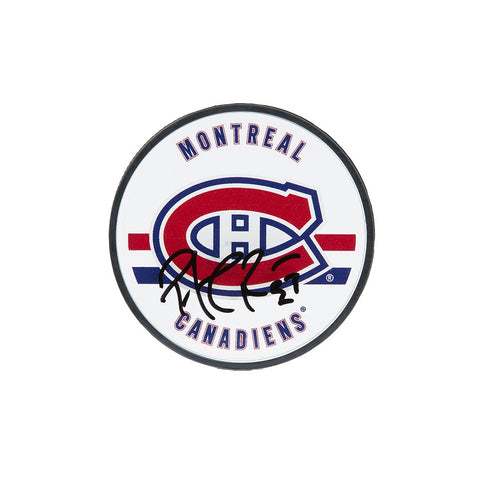 Patrick Roy Autographed Montreal Canadiens Acrylic Puck