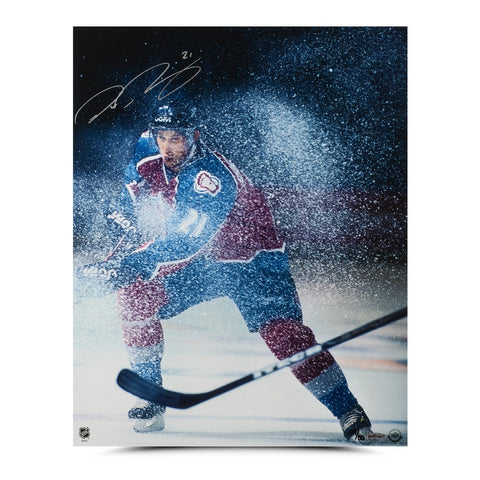 "Peter Forsberg Autographed ""Ice Storm"" 16 x 20 Photo"