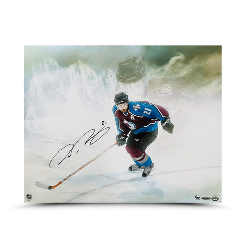 "Peter Forsberg Autographed ""Watcher"" 16 x 20 Photo"