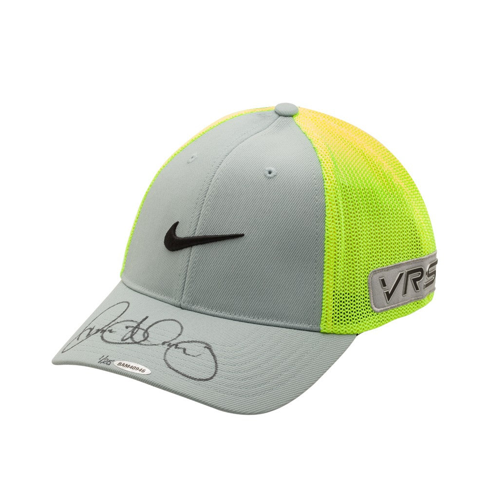 e88dff293 Rory McIlroy Autographed Grey and Volt Nike Hat – Super Sports Center