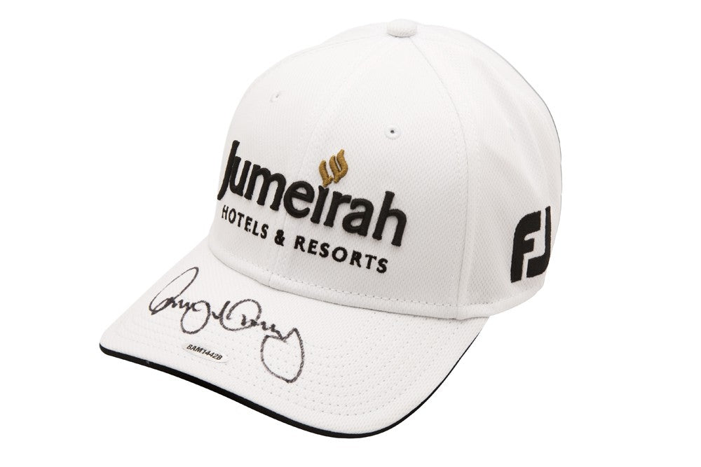 0a2f95f02 Rory McIlroy Autographed Jumeriah White Titleist Hat – Super Sports Center