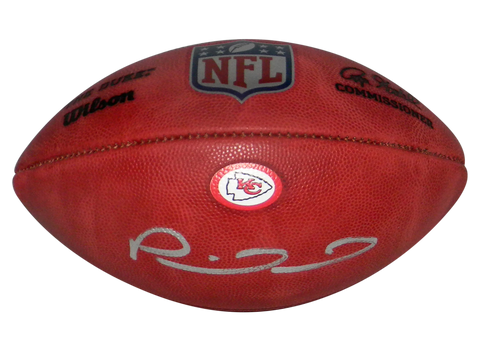 PATRICK MAHOMES SIGNED KANSAS CITY CHIEFS OFFICIAL NFL DUKE WILSON FOOTBALL BAS