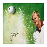 JACK NICKLAUS Autographed Sand Trap Break Through Framed Display Piece UDA LE 25