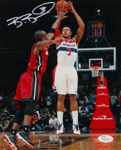 Bradley Beal Autographed 8x10 Front View Shooting Photo- JSA W Authenticated