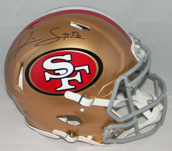 KWON ALEXANDER SIGNED SAN FRANCISCO 49ERS FULL SIZE SPEED AUTHENTIC HELMET
